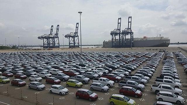 Lượng ô tô nhập khẩu nguyên chiếc giảm 18% trong tháng 4-2019