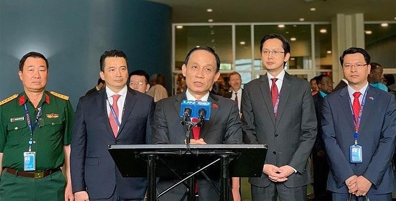 """Tổng Bí thư, Chủ tịch nước Nguyễn Phú Trọng: """"Việt Nam: Đối tác tin cậy vì hòa bình bền vững"""""""
