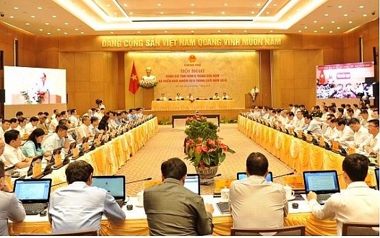 Thủ tướng Nguyễn Xuân Phúc chủ trì Hội nghị Chính phủ trực tuyến với các địa phương