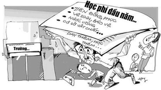 Kiên quyết xử lý lạm thu trong năm học mới