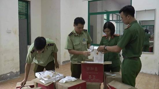 Thu giữ hơn 4.400 bánh trung thu trứng chảy nhập lậu từ Trung Quốc