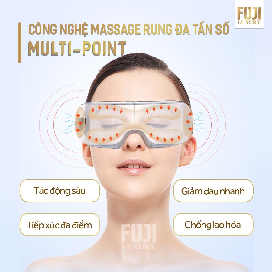 Máy massage mắt Fuji Luxury: Khắc tinh của các bệnh về mắt, cán mốc 5000 máy sau 1 tháng trình làng