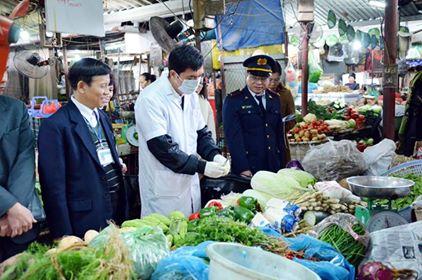 Thành lập 03 Đoàn thanh, kiểm tra liên ngành công tác An toàn thực phẩm dịp Tết và Lễ hội Xuân