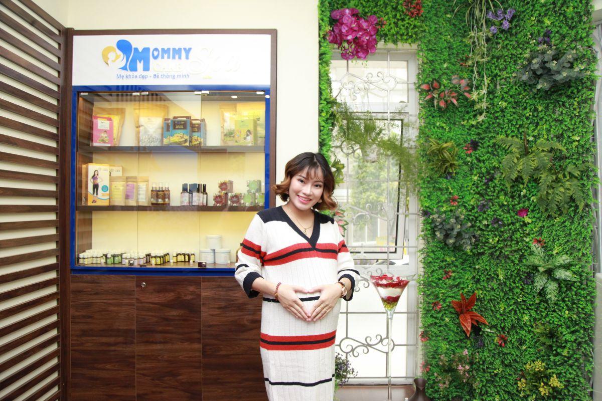 Chị An tin tưởng dùng và trải nghiệm các sản phẩm có nguồn gốc thiên nhiên tại Mommy Care Spa