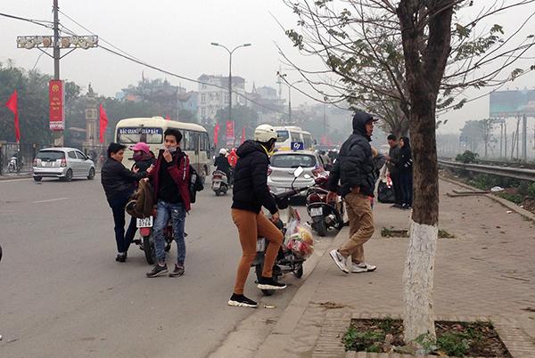 Hà Nội: Cận Tết Nguyên đán, nhức nhối tình trạng xe khách đón trả sai quy định - Ảnh 3