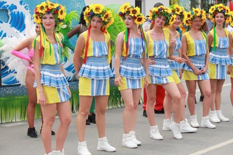 Hấp dẫn Lễ hội Carnival đường phố Sầm Sơn