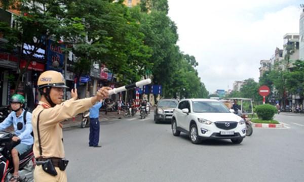 Chi tiết 35 tuyến đường Hà Nội bị cấm theo từng khung giờ trong thời gian tổ chức Đại hội Đảng 12