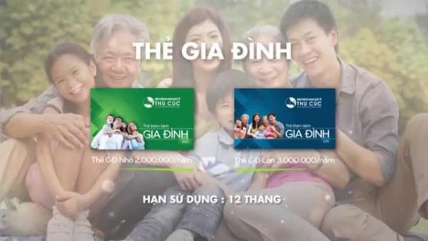 Xu thế chăm sóc sức khỏe mới với Thẻ khám bệnh gia đình