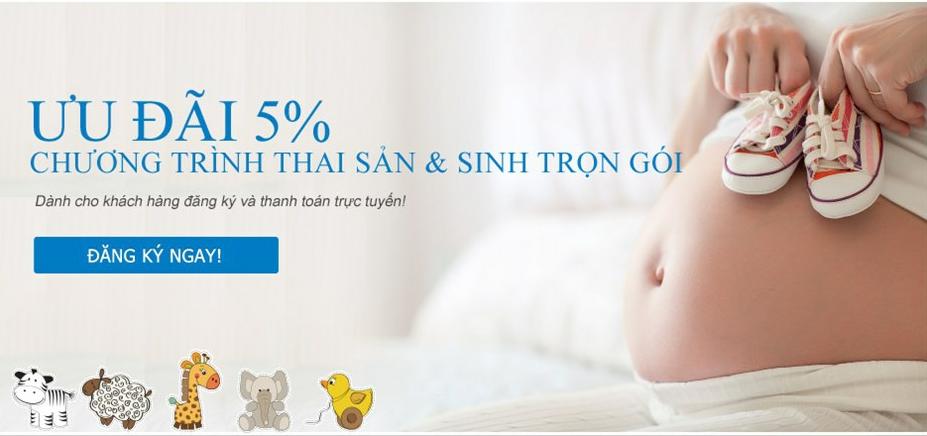 Cập nhật chi phí và dịch vụ sinh con trọn gói tại Bệnh viện Việt Pháp năm 2016