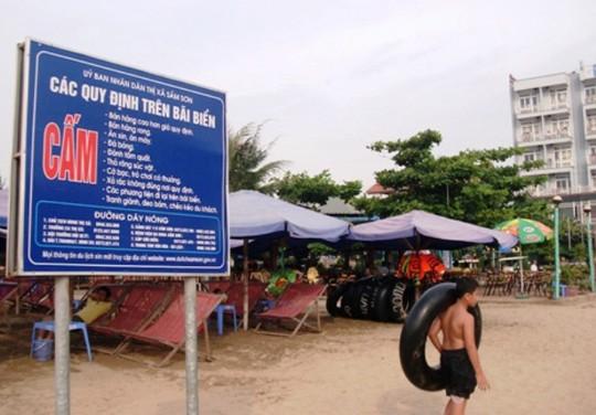Lễ hội du lịch biển Sầm Sơn 2016: Năm nay sẽ sạch bóng nạn