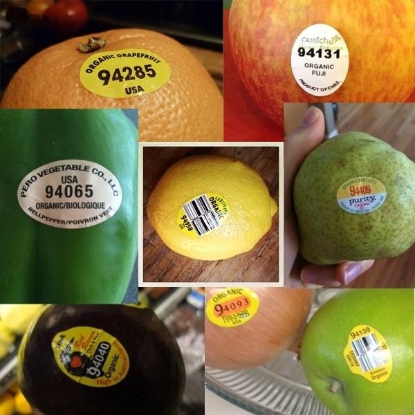 Ý nghĩa các con số trên tem nhãn dán trên rau củ quả người tiêu dùng cần biết