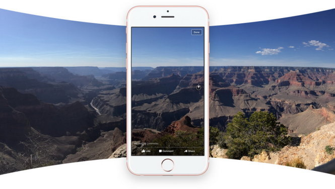 Hướng dẫn cách post ảnh 360 độ lên Facebook