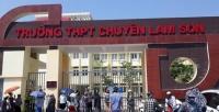 Thanh tra nhiều khoản thu, chi tại trường THPT chuyên Lam Sơn (Thanh Hóa)