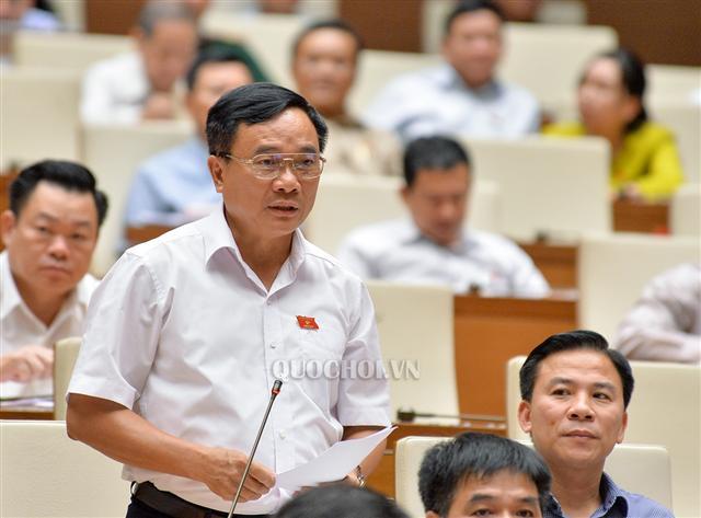 Đại biểu Mai Sỹ Diến, Phó đoàn Đại biểu Quốc hội Thanh Hóa. Ảnh: Quochoi.vn.