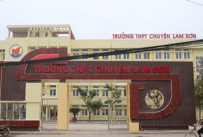 Những vi phạm ở trường THPT chuyên Lam Sơn sẽ được xử lý thế nào?
