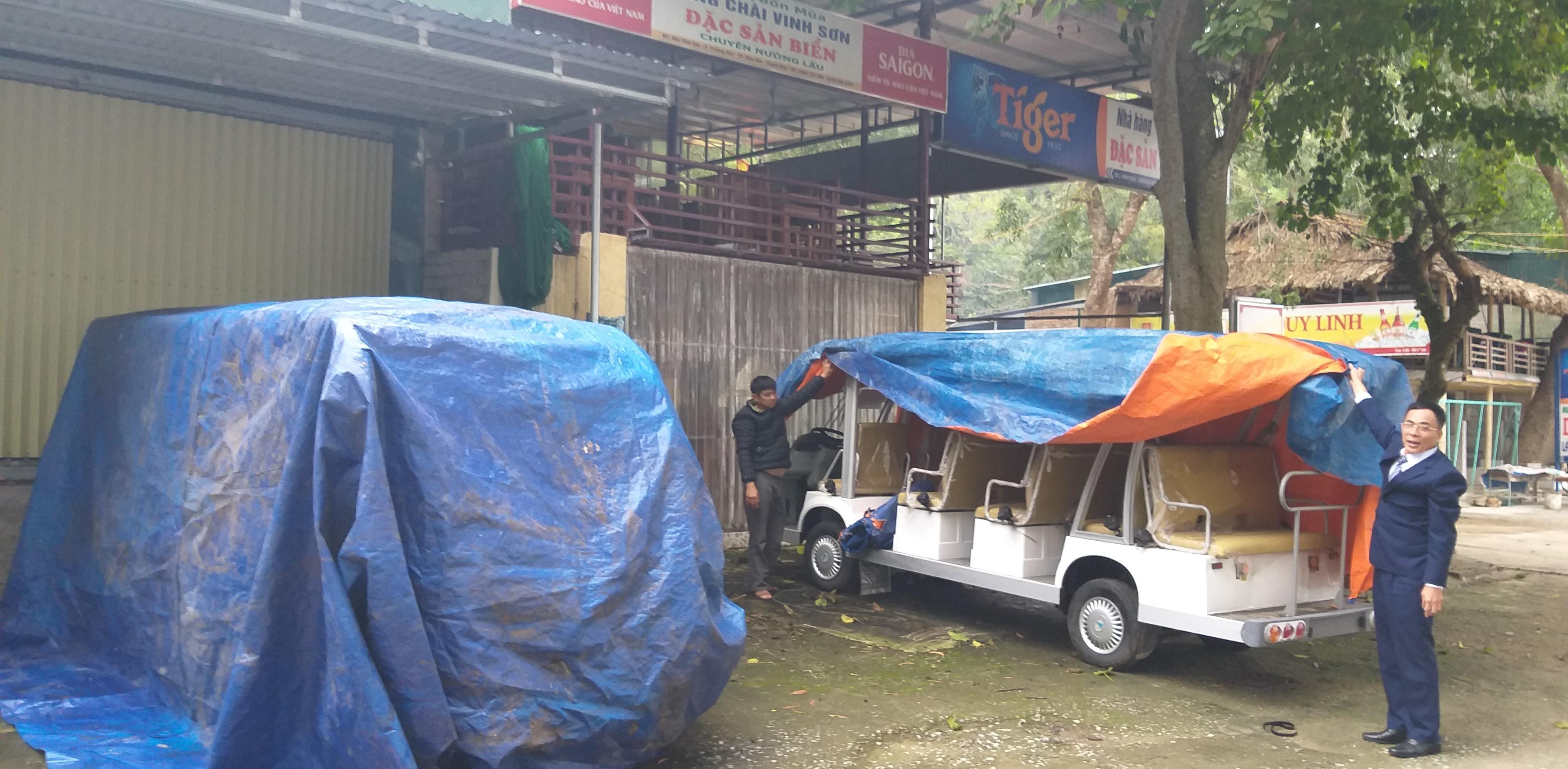 Vụ xe điện tiền tỷ đắp chiếu: Lãnh đạo thành phố Sầm Sơn... đừng sợ!