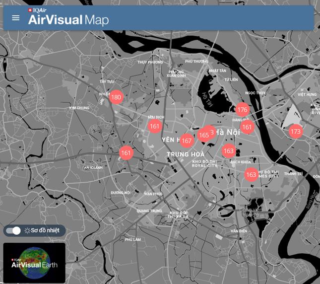Chuyên gia nói gì về báo cáo Hà Nội là thành phố ô nhiễm không khí thứ 2 ở Đông Nam Á?