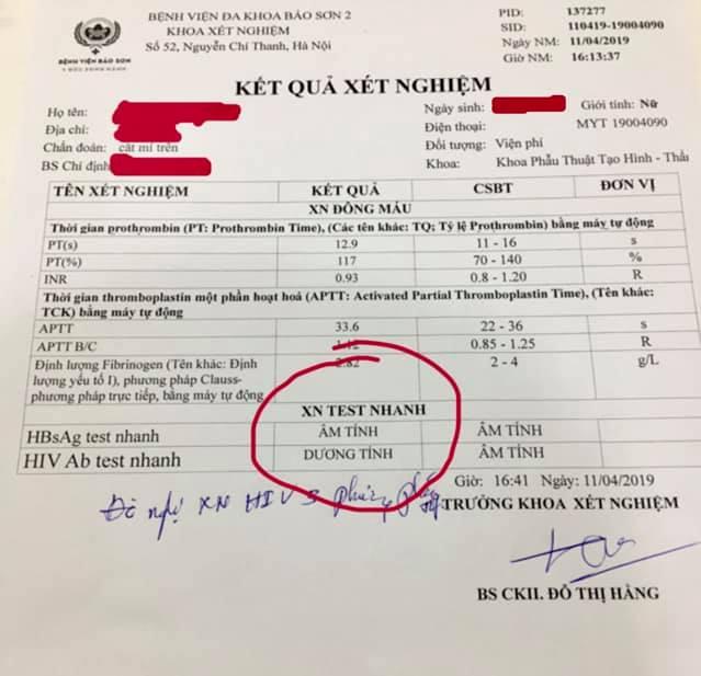 Lời cảnh báo của bác sĩ: Đi phẫu thuật thẩm mỹ có thể bị lây nhiễm HIV