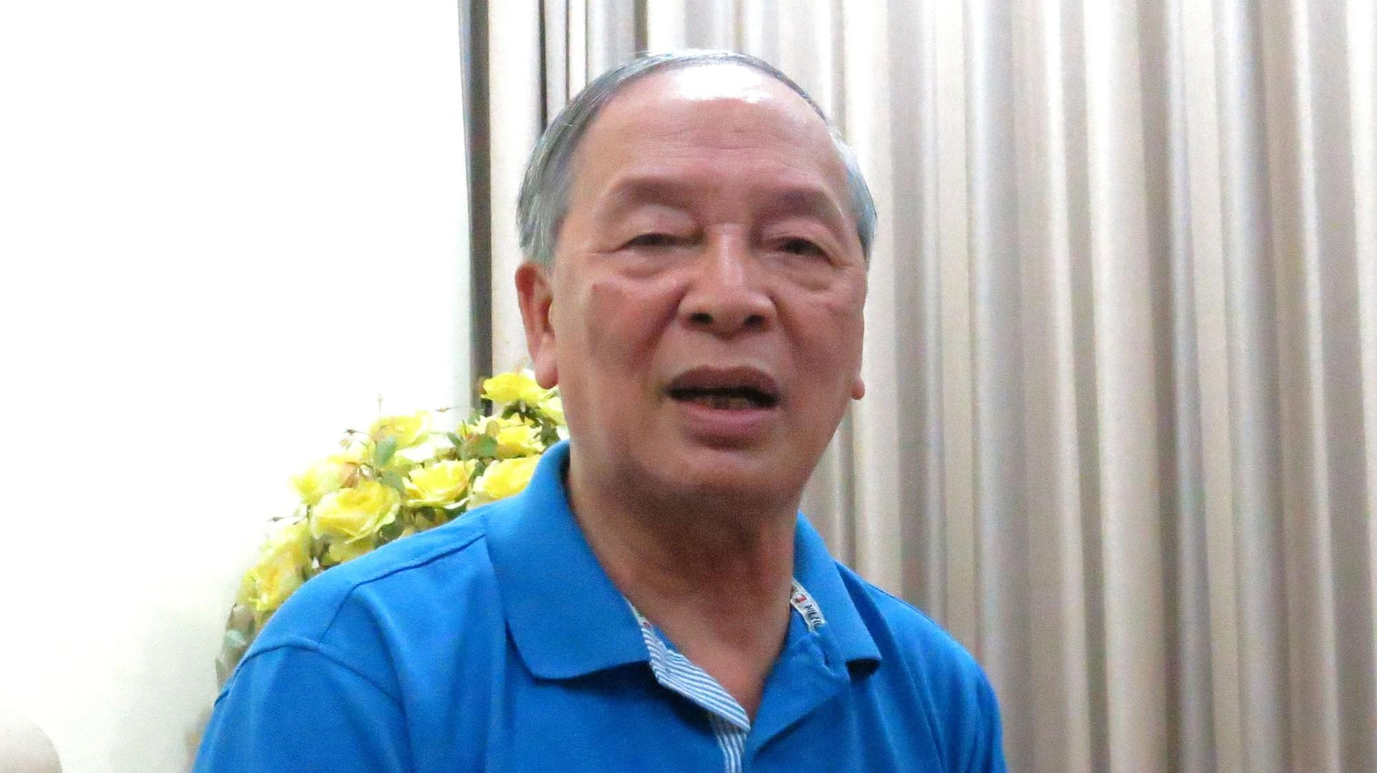 Chuyên gia kinh tế Vũ Vinh Phú, nguyên Phó Giám đốc Sở Thương mại, nguyên Chủ tịch Hội Siêu thị Hà Nội.
