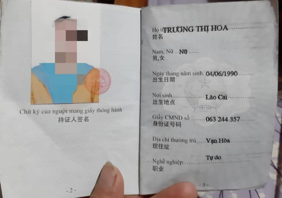 Trường hợp phóng viên thông tin cho Công an tỉnh Lào Cai nhưng chưa nhận được bản khai có chữ ký, biên lại thu phí.