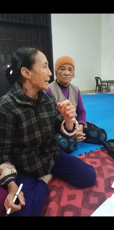 Bà Tám và hội phụ nữ thôn Kim Bài bức xúc với dự án