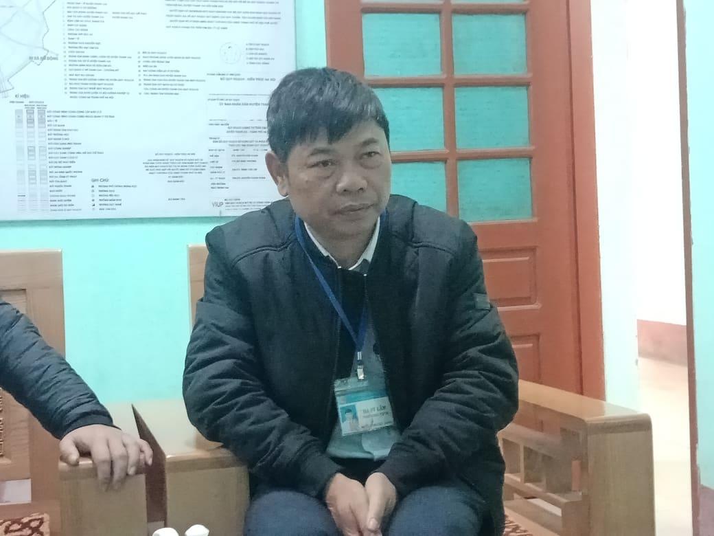 Ông Hà Sỹ Lâm – PCT thị trấn Kim Bài