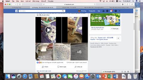 Bài viết chia sẻ cách dùng sáp ong thôi vào tai trị viêm tai giữa trên mạng xã hội.