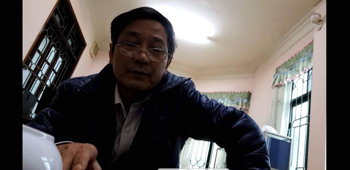 Phạm Đình Quang - Phó giám đốc Nhà máy Xi măng Tuyên Quang.
