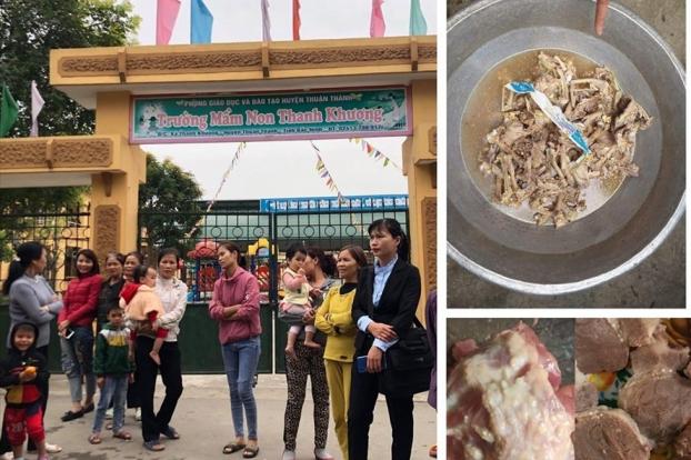 Vụ trường mầm non ở Bắc Ninh bị tố dùng thực phẩm bẩn: Đã có kết quả kiểm nghiệm thịt gà