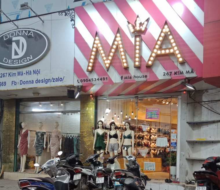 Chuỗi hệ thống cửa hàng MIA