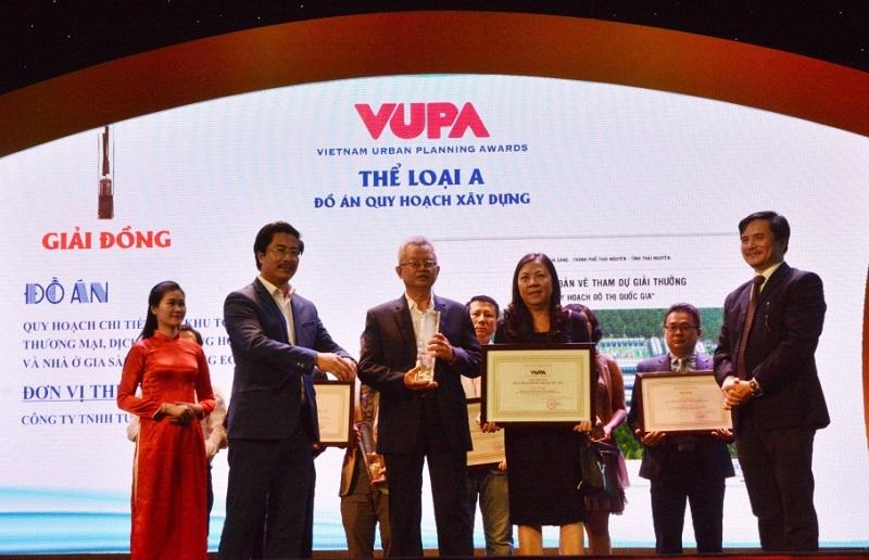 Đồ án Quy hoạch Khu đô thị Crown Villas đoạt giải Đồng giải thưởng VUPA