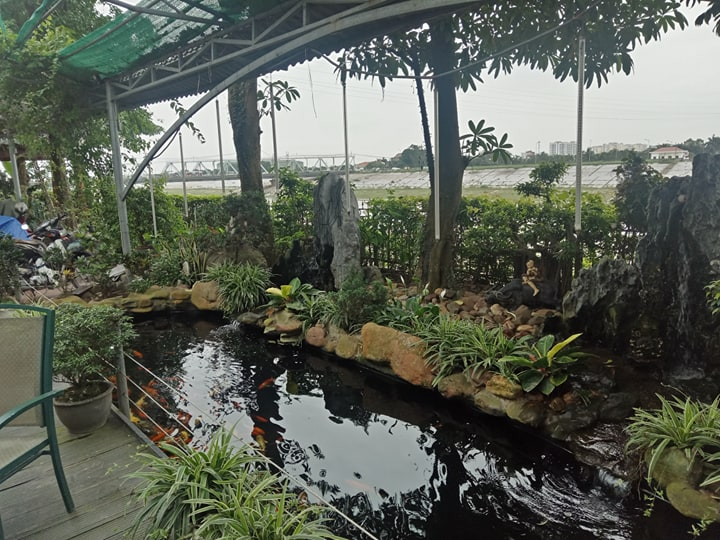 Hà Nội: Khu nghỉ dưỡng hàng nghìn mét vuông