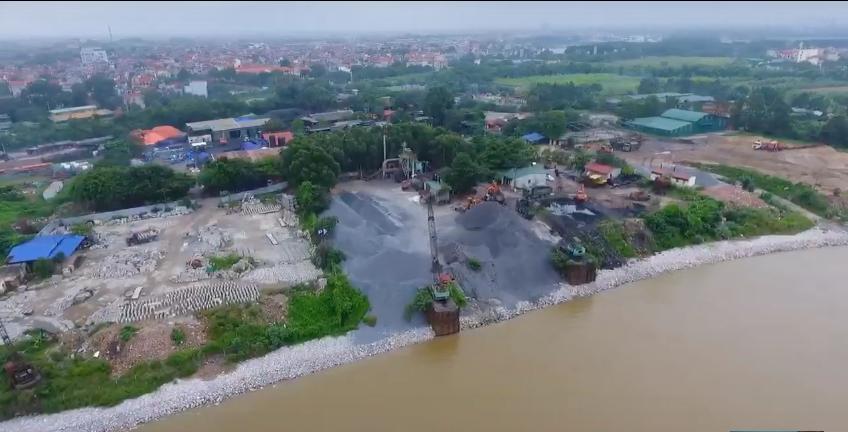 Vụ vi phạm tại hành lang thoát lũ sông Đuống: Sở Nông Nghiệp quyết xử lý – UBND huyện né tránh