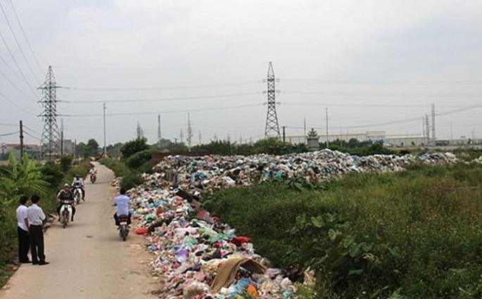 Hà Nội: Tập trung cải thiện ô nhiễm môi trường nông thôn, làng nghề