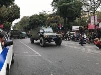 Hà Nội: Đường phố khác lạ trong ngày ra quân trước Hội nghị Thượng đỉnh Mỹ - Triều Tiên
