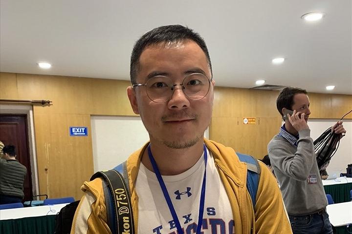 Chen Ke, phóng viên Tập đoàn truyền thông Thâm Quyến, Trung Quốc. Ảnh: V.A