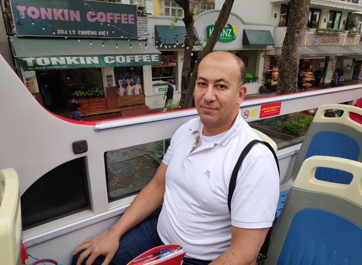 Ông Mohamed Almenshawy.phóng viên kênh tin tức Al Shouk News (Ai Cập).