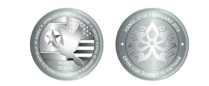 Đồng xu bạc của Việt Nam sẽ được phát hành chính thức vào 9h sáng 27/2. (Ảnh: công ty Tem cung cấp)