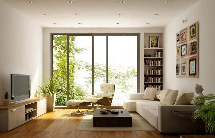 Cách bài trí căn hộ chung cư giúp lấy trọn ánh sáng tự nhiên