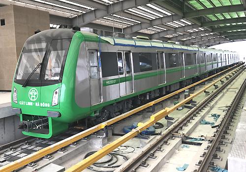 Tàu điện Cát Linh - Hà Đông: Miễn phí 15 ngày, giảm 50% cho sinh viên
