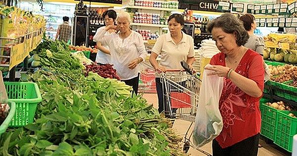 Chỉ số giá tiêu dùng trong tháng 3 giảm nhẹ