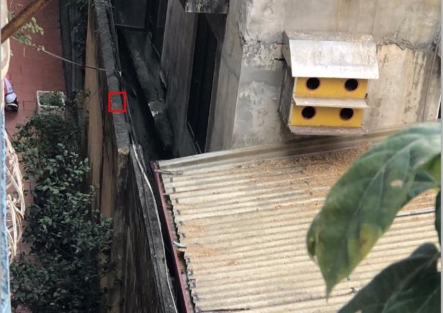Hải Phòng: Dân bất an vì bức tường nghiêng