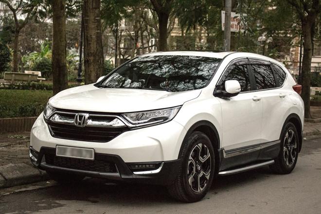Giá lăn bánh xe Honda CR-V năm 2019 tại Việt Nam: Nhiều phiên bản, thấp nhất hơn 1 tỷ đồng