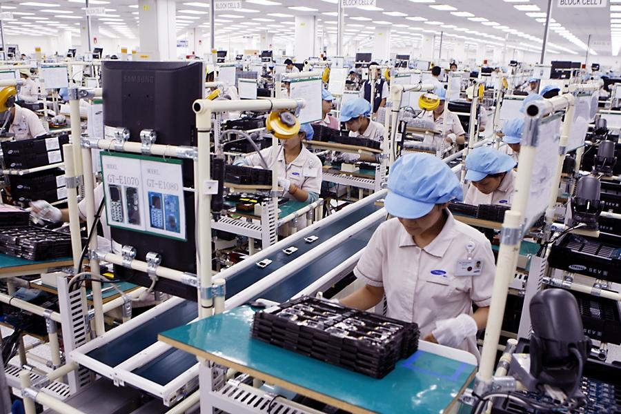 Hoa Kỳ cũng là thị trường số một đối với nhóm hàng máy móc, thiết bị, dụng cụ và phụ tùng. (Ảnh TL)