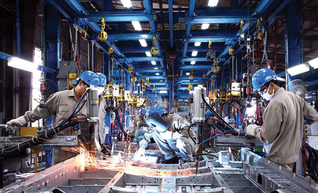Sản xuất công nghiệp đạt mức tăng khá so với cùng kỳ năm trước