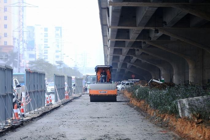 Hàng loạt những công trình đường phố ở Hà Nội được cải tạo, sửa chữa và mở rộng