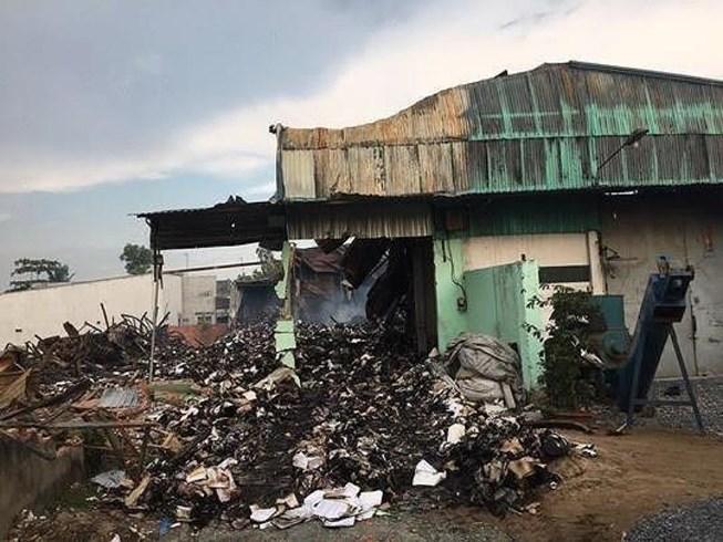 TP. HCM: Tiếp tục điều tra vụ cháy khiến gần 3.000 thùng hồ sơ trợ giá xe buýt bị thiêu rụi