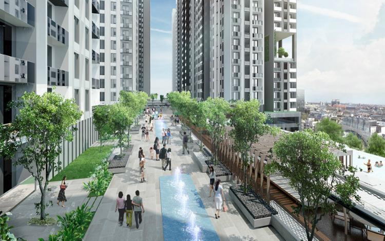 Giá căn hộ tại TP HCM tăng gần 12% sau một năm - Ảnh 1
