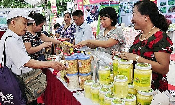 Hà Nội sẽ trưng bày 40 gian hàng quảng bá các sản phẩm thương hiệu Việt