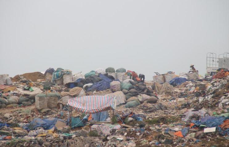 Lò đốt rác y tế hoạt động cầm chừng chờ kết quả đánh giá ô nhiễm